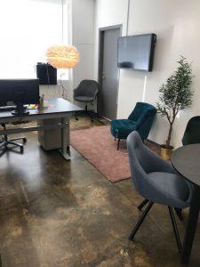 Designgulve på kontor